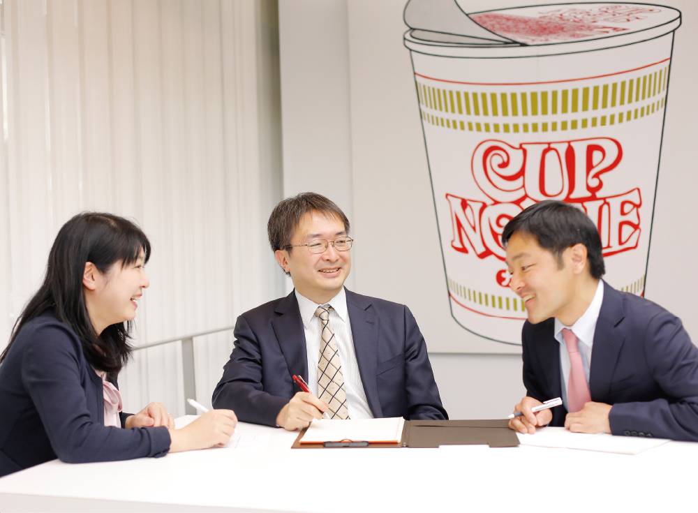 日清食品ホールディングス株式会社 法務部